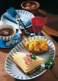 Wellness-Frühstück