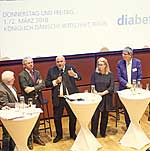 Diskussionsrunde zur Gesundheitspolitik