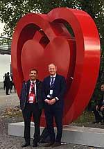 Prof. Dr. Volkmar Falk (rechts) und Prof.Miguel Sousa-Uva aus Portugal