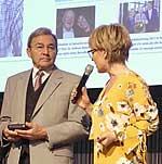 Horst Lommler und Andrea Ballschuh