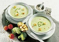 Brokkoli-Käsecreme-Suppe