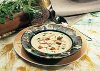 Holsteiner Schlemmersuppe mit Käse