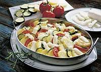 Kartoffel-Tomaten-Zucchini-Gratin