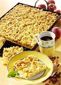 Veganer Apfelstreusel-Kuchen