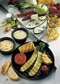 Vegetarische Spezialitäten vom Grill