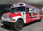 Bus der Initiative 'Herzenssache Lebenszeit'