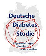 Logo: Deutsche Diabetes Studie