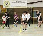 Kids beim Hockey-Schnuppertraining