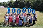 Das GPPAD-Forschungsteam feiert den 100.000sten Teilnehmer