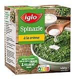 iglo Spinat mit Nutri-Score Kennzeichnung aus den Niederlanden