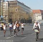 Läufer beim Halbmarathon in Berlin