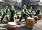 Die Trommlerinnen von wasabi daiko