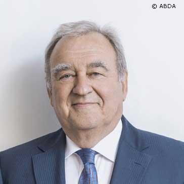 Fritz Becker, Vorsitzender des Deutschen Apothekerverbands (DAV)