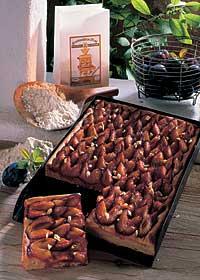 Zwetschgenkuchen mit Mandeln