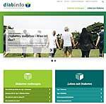 Startseite von diabinfo.de