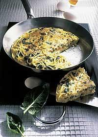 Spaghetti-Omelette für Diabetiker