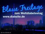 Blue Fridays zum Weltdiabetestag