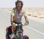 Geri Winkler auf dem Wüsten-Highway