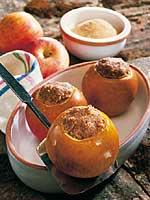 Bratäpfel mit Fermentgetreide-Füllung