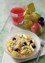 Früchtereis mit Dinkula