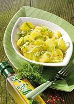 Kartoffelsalat mit Endivien