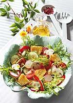 Knackiger Sommersalat