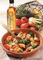 Mediterrane Gemüsepfanne