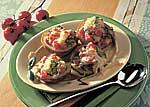 Ofenkartoffel mit Tomaten-Käse-Füllung