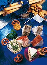 Pikante Käse-Ecken