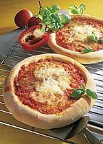 Scharfe Pizza aus Kartoffelteig