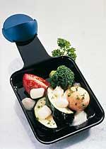 Raclette mit Gemüse